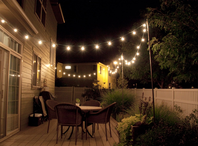 White Rope Lights Outdoor - Democraciaejustica on solar garden ideas, solar backyard lighting products, solar backyard decorating, concrete backyard lighting ideas,