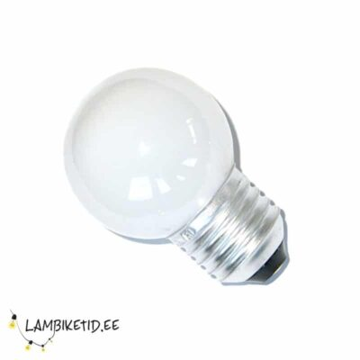 LED lamp 0,8W 3000K 50lm Matt