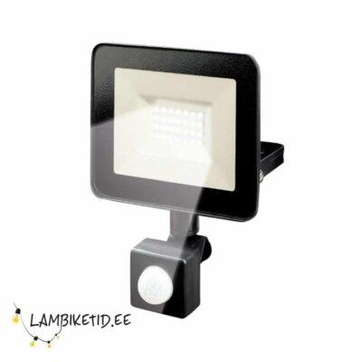 LED prožektor liikumisanduriga 20W 6500K IP44