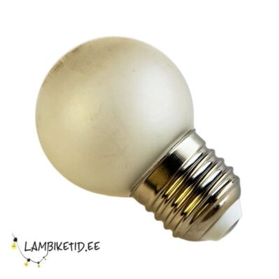 LED lamp 0,7W 2700K 40lm frosted