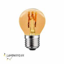 Retrolamp spiraal LED 3W 2200K DIM
