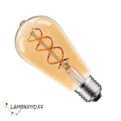 LED filament 5W 2200K Edison ST64 DIM