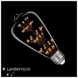 LED Rustic 2W 2100K 130lm Edison